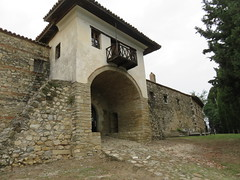 Albania - Near Fier - Ardenica Monastery - Entrance (JulesFoto) Tags: albania ardenicamonastery fier