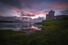 Dunguaire Castle (mitalpatelphoto) Tags: dunguairecastle adventure blue castle clouds coast europe explore galway grass green horizontal indurotripod ireland landscape longexposure nikon photography sunset travel visit water kinvarra countygalway ie