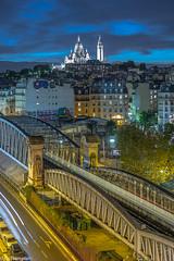 montmartre (picfromparis) Tags: paris parisien photography parisian photo place capital europe rooftop longexposure architecture canon france monument montmartre metro subway