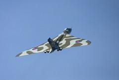 XH558 Avro Vulcan at Ayr (Ayrshire Aviation Images) Tags: avrovulcan vulcan xh558 bomber royalairforce warbird aircraft airplane military militaryjet