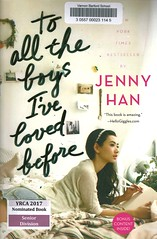 To All the Boys I've Loved Before (Vernon Barford School Library) Tags: 9781442426719 jennyhan jenny han love romance romantic loveletter letter letters loveletters dating sisters siblings yrca youngreaderschoiceawards yrcanominee yrcanominees award awards senior seniordivision vernon barford library libraries new recent book books read reading reads junior high middle vernonbarford fiction fictional novel novels paperback paperbacks softcover softcovers covers cover bookcover bookcovers