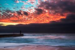 _MG_3138 (Diamantino Dias) Tags: portugal porto oceano mar arlivre gua fim do dia serenidade farol nuvens sol ceu