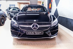 Mercedes-Benz CLS 350 d - AMG PLUS - SHOOTING BRAKE - ( mod.2016) - Carbono -Negro Obsidiana - Piel Beige