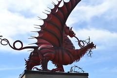38th (Welsh) Division Red Dragon Memorial. (greentool2002) Tags: