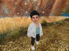 Exploring. (Zaidon Resident) Tags: muriel dura nouvelles ss toddleedoo secondlife trees fall photography photographer photo photooftheday photograpy pictures people pc pose