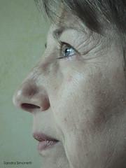 profilo freddo (sandra_simonetti88) Tags: donna woman profilo ritratto freddo cold sguardo look