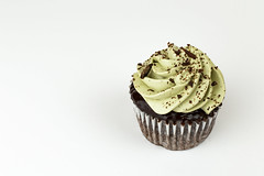 Chocolate Cupcake (brian_barney9021) Tags: cupcake chocolate lacrosse wi la crosse wisconsin cake dessert food white background best nikon d3200 35mm pastry bakery jen barney jennifer frosting wedding ideas