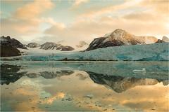 A journey in September......Svalbard (Brigitte Lorenz) Tags: landscape svalbard norway nature ice sea light colors glacier