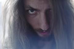 (helenblumenfeld) Tags: portrait eyes skin blueeyes longhair male man menwithlonghair moody mysterious