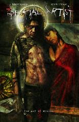 Serial Artist Cover (cr24ti7e) Tags: art comics design comic award divine murder graphicnovel serialkiller resistance iching occupy