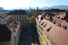 Graz (anuwintschalek) Tags: autumn stairs austria october herbst roofs treppe graz steiermark 2012 trepp roofscape schlossberg sgis dcher 18200vr d7k dcherlandschaft katused nikond7000 katusemaastik