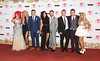 Cast of Geordie Shore The MTV EMA's 2012 held at Festhalle - press room Frankfurt, Germany