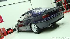 BMW M3 E36 Coupé (jeffgarage) Tags: ut purple violet bmw techno m3 coupé 118 diecast e36 diecaster jeffgarage