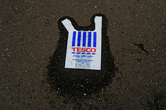 TESCO bag art