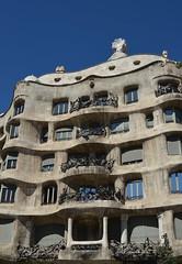Casa Mil aka La Pedrera [Barcelona - 14 September 2012] (Doc. Ing.) Tags: barcelona architecture spain unesco catalunya modernismo 2012 casamil worldheritage lapedrera passeigdegracia antonigaud eixample