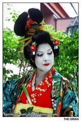 SUMMER - The Oiran (Kurokami) Tags: ladies girls summer woman toronto ontario canada girl japan lady asian japanese women asia traditional maiko geiko geisha era kimono edo kitsuke courtesan oiran tayuu