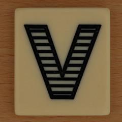 PAIRS IN PEARS Striped Letter V (Leo Reynolds) Tags: canon eos iso100 v letter 60mm f80 oneletter letterset vvv 40d hpexif 0033sec grouponeletter xsquarex xleol30x xxx2012xxx