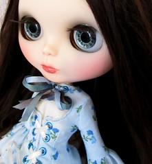 bluebrown eyes