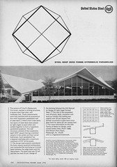 Frisch's Mainliner #2 Restaurant (1964) (matthunterross) Tags: roof ohio building architecture downtown steel cincinnati plan concept woodie hyperbolic garber paraboloid architecturalrecord