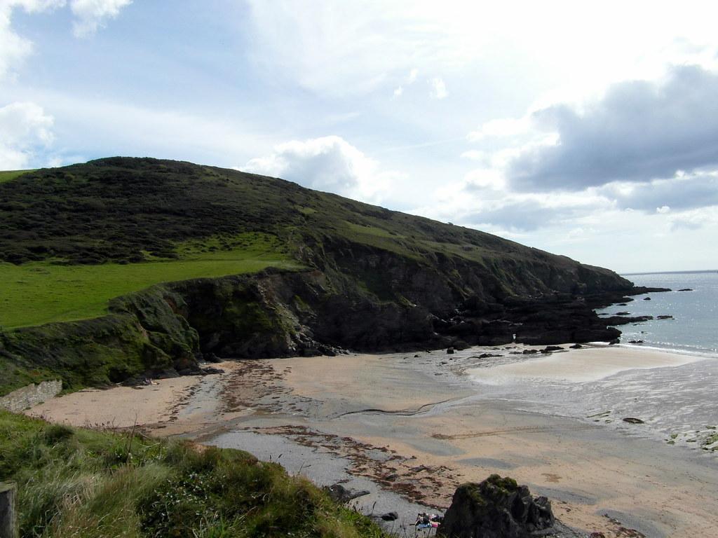 Hemmick Beach looking East