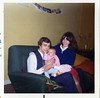 Rita and Ian Cluckie with Baby Allison (Milton) 1974