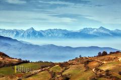 Kosovo and Albania in one photo (azem) Tags: mountains alps nature fog canon landscape eos haze kosova kosovo 5d layers balkans albanian albania 2012 markii bjeshket shqiperi shkelzen gjeravica nemuna