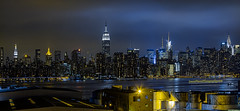 view of Manhattan skyline from the Wythe hotel in Brooklyn (Jason Pierce Photography) Tags: city nyc cityscape cityscapes newyorkskyline manhattanskyline empirestate scape atnight litup newyorkcityphotography nyccityscapes newyorkcitycityscapes wythehotelbrooklynviewofcityfrombar
