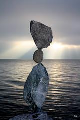 Equilibrio - Steinbalance - Rockbalancing (Heiko Brinkmann) Tags: lakeconstance steinbalance
