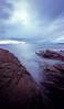 Rain over Rum (dougchinnery.com) Tags: autumn light sea panorama color colour skye 120 film island scotland rocks waves fuji pinhole medium format rum zero astia elgol chinnery vetorama