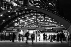Running for the train (harold.whatever) Tags: leica london tube wharf docklands canary x2