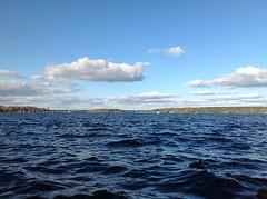 Cumulus humilis (andreas.christen) Tags: cloud lake cumulushumilis