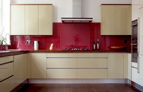 kitchen red_glass_splashbacks
