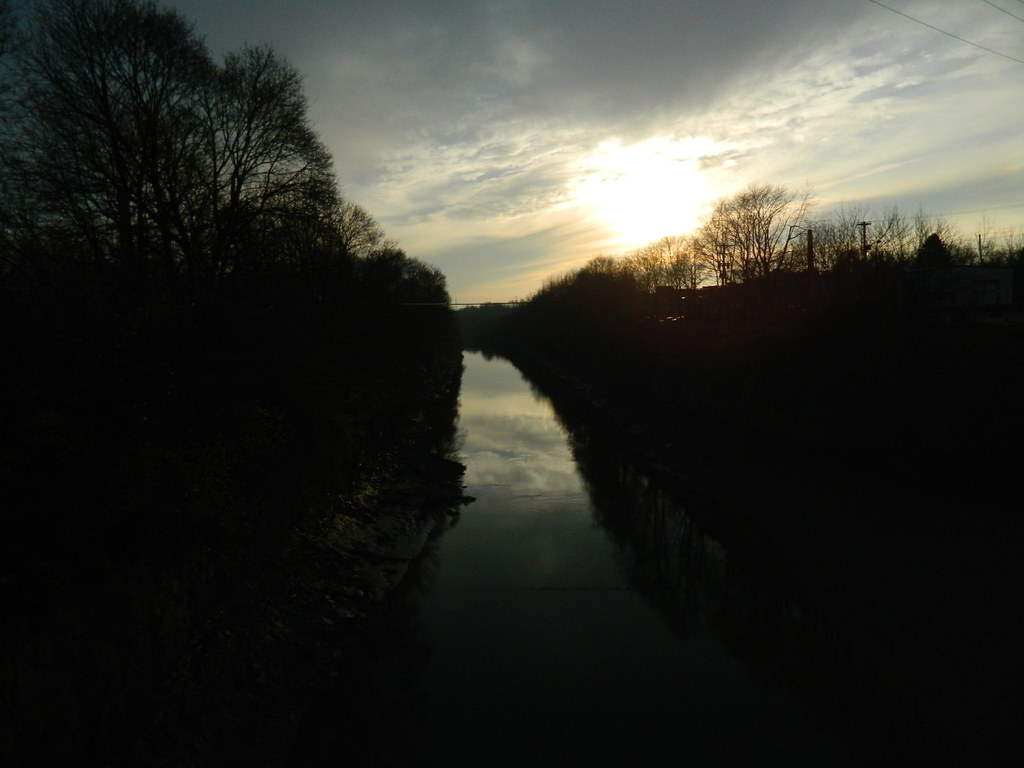 The westward Erie canal