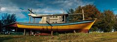 (mohdhanafiah) Tags: panorama boat fisherman malaysia bot terengganu nelayan setiu nikond40 kampungmangkuk afsdxnikkor35mmf18g