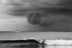 Shelter with the spirits (Mark Emirali) Tags: mono mood yacht wave northland spiritsbay markemirali