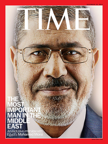 President Morsi of Egypt on Time Magazine cover