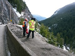 Filming Highway Thru Hell (TranBC) Tags: coquihalla frasercanyon discoverchannel bchighways tranbc bchighway5 bchwy1 shiftintowinter highwaythruhell