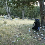 "Thursday night's campsite <a style=""margin-left:10px; font-size:0.8em;"" href=""http://www.flickr.com/photos/59134591@N00/8232578490/"" target=""_blank"">@flickr</a>"