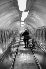 Back to the hell (Robert Lipnicki) Tags: city night metro doubleexposure tube ne taip ne4 ne5 ne3 ne7 london20121201 ne6vajezau