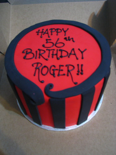 Red and Black Man's birthday