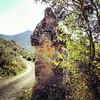Looking back towards Babadag (VillaRhapsody) Tags: road ancient antique sarcophagus tombs fethiye lycian kayaköy rocktombs preroman