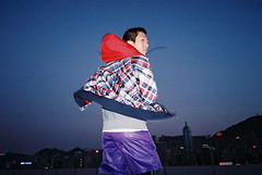 LOOK OF SPORT: HONG KONG (Thunder X A) Tags: street city portrait color film fashion sport 35mm relax hongkong movement model moody outdoor joy grain young style naturallight move location nike hong kong animation fujifilm joyful sporty streetfashion lookbook vitality 2011 sportwear