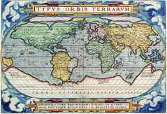 Antique Maps (divinumphoto) Tags: map mapoftheworld c1570 antiquemapsoftheworld abrahamortelius