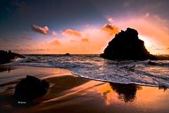 """Fim de tarde na Adraga (Miguel Tavares Cardoso) Tags: sunset praia beach portugal pôrdosol picturesque adraga otw flickraward theme"""" thebestofday gününeniyisi panoramafotográfico """"mallmixstaraward"""" """"sky migueltavarescardoso"""