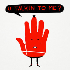 u talkin to me? (sir manish) Tags: robert illustration funny travisbickle taxidriver deniro youtalkingtome talktothehand