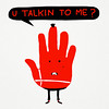 u talkin to me? (sir manish) Tags: robert illustration funny travisbickle taxidriver deniro youtalkingtome talktothehand