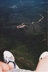 (Just... Play) Tags: mountain feet analog landscape high shoes view legs stirling perspective australia edge western wa hanging range dangling bluff porongorup