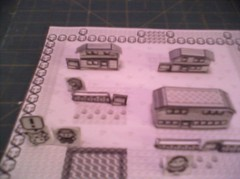 Pallet Town 01 ((>'o')>_WA-OH) Tags: paper pikachu pokemon gameboy diorama papercraft 1stgen rby pallettown