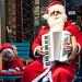 Santa and Santa Dog