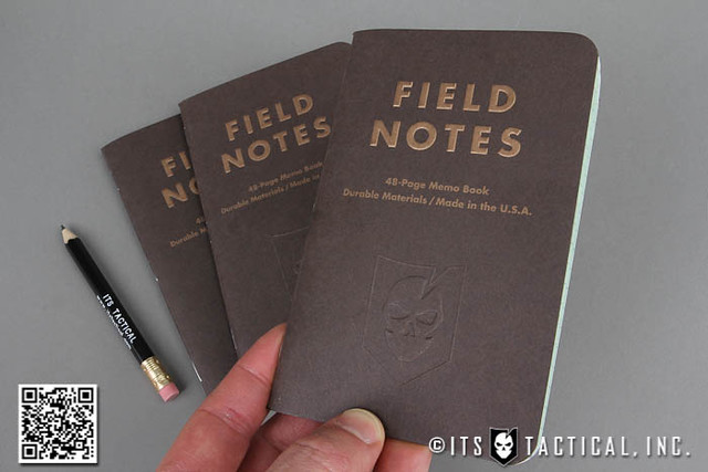 ITS Embossed Field Notes Traveling Salesman Edition 01